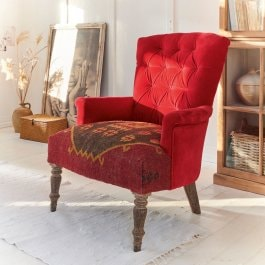Poltrona Hinsdale rosso